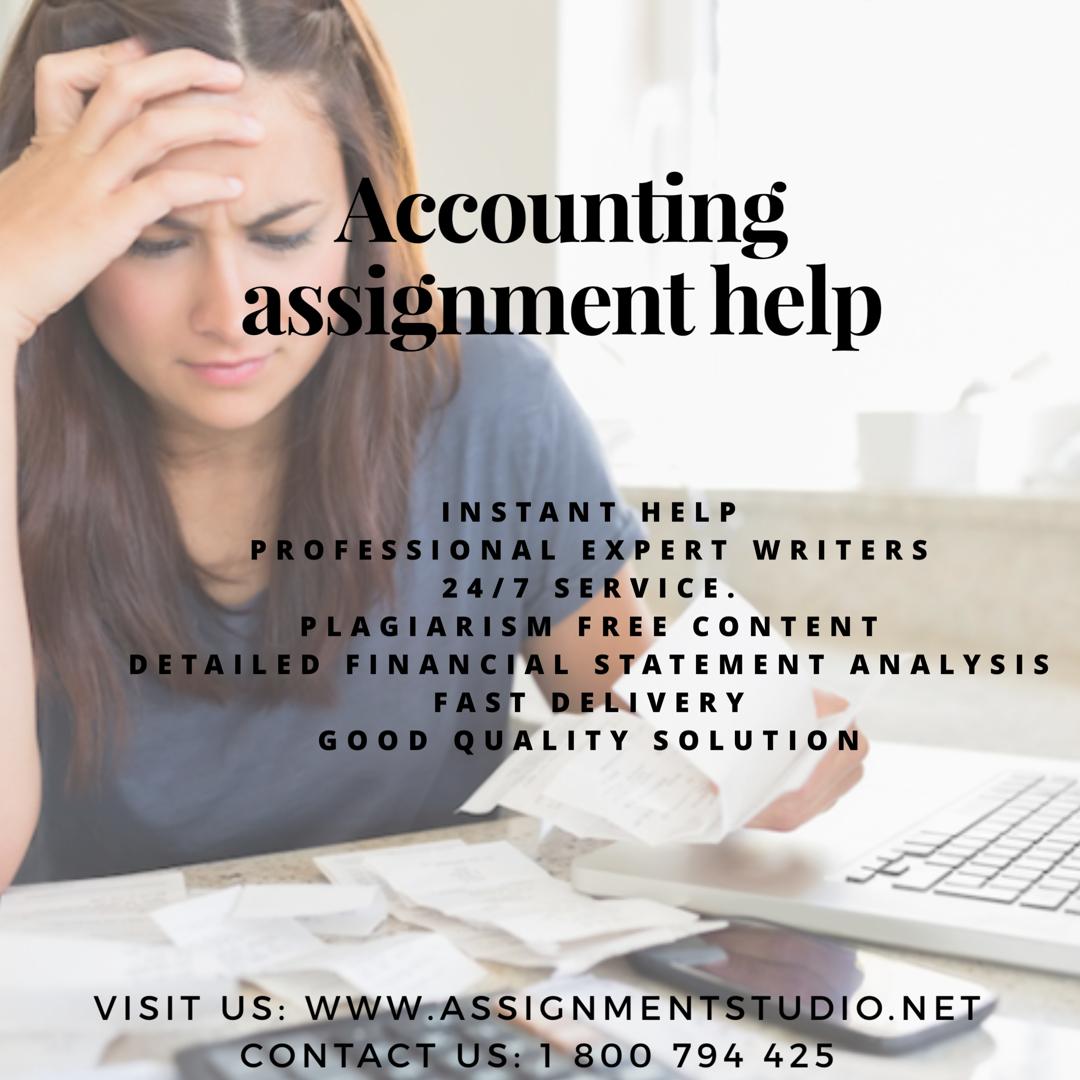 Accounting Homework Help Free